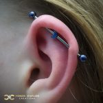 Industrial Barbell with little Moon