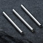 Implant Grade Titanium Nipple Barbell